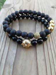 black bead bracelet with charm images The 25 best hematite bracelet ideas hematite jpg
