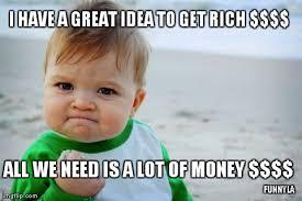 Funny Money Meme - getting rich formula imgflip