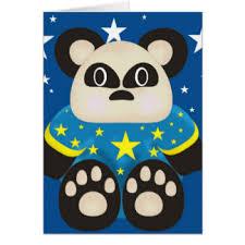 panda birthday cards u0026 invitations zazzle co nz