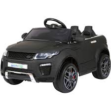 land rover evoque black and white range rover evoque style 12v child u0027s electric ride on car jeep 6