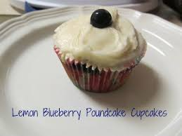 lemon blueberry poundcake cupcakes u2014 frugal debt free life