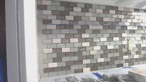 backsplash simple mosaic tile backsplashes room design plan