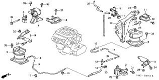 2001 honda accord coupe parts honda accord 2 door lx v6 ka 4at engine mount v6