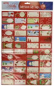 amazon com christmas gift tag stickers toys u0026 games
