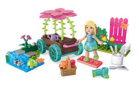 amazon com mega construx welliewishers cheerful carriage camille