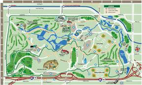 Orlando Parks Map by St Louis Forest Park Map