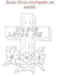good friday coloring pages printables