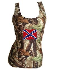 Confederate Flag Wallet Camo Tank Top With Weathered Rebel Flag The Swamp Company