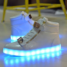 light up high tops nike nike light up shoes gold yellow