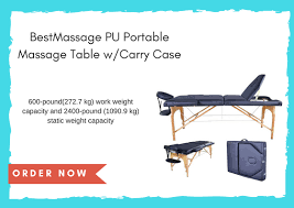 Best Portable Massage Table The Best Portable Massage Table For 2017 Top 5 Best Products
