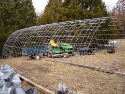 cattle panels for shelter cover with plastic for greenhouse