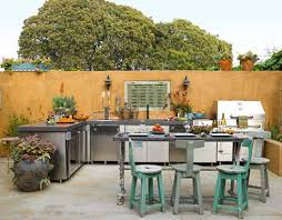 outdoor kitchen cabinets kits pros and cons of different outdoor kitchen cabinets materials