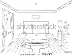 Bedroom Interior Design Sketches Entrancing 60 Easy Interior Design Sketches Decorating Design Of
