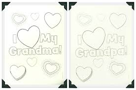happy grandparents day coloring page free printable pages for