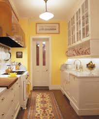 Vintage Galley Kitchen A Period Perfect Italianate Restoration Old House Restoration