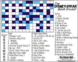 easy crossword puzzles about movies disney crossword puzzles online wrha us