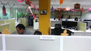 Diwali Decorations In Home Diwali 2012 Decoration In My Office U0027 Youtube