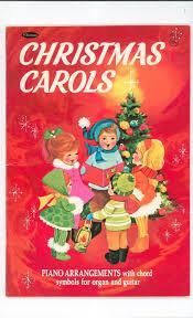 vintage carols book piano chord symbols for organ
