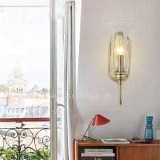 Glass Candle Wall Sconces Modern Glass Shade Candle Wall Sconces