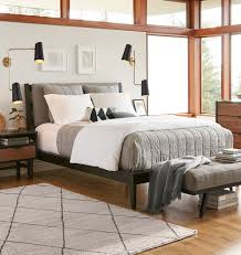 washed linen quilt u0026 shams heathered gray rejuvenation
