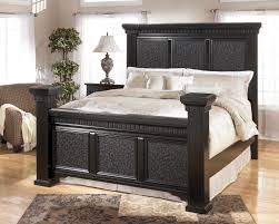 King Size Bed Bench Masculine Tall Bed Frame King Size In Black Feat Rectangle Rug In