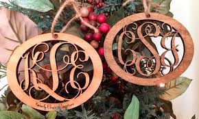 custom wood ornaments from lilydeal groupon