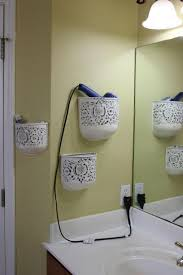 practical bathroom storage ideas hair dryer storage and bathroom