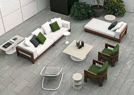 Modern Garden Wooden Chairs Modular Sofa Contemporary Garden Wood Alison Iroko By