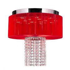 Red Ceiling Lights by Worldwide Lighting Flushmount Lights Ceiling Lights The Home