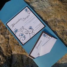 Beach Theme Wedding Invitations Beach Themed Pocket Wedding Invitations The Wedding