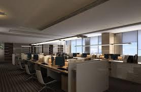 bureau free grand bureau moderne et ouvert 3d model free 3d models
