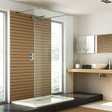 bathroom walkin shower square modern small room corner burly