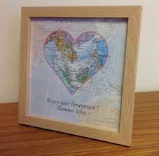 wedding gift map personalised map gift world travels 19 50 cosmographics ltd