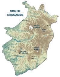 Washington State Geologic Map by Southern Cascades Wa Dnr