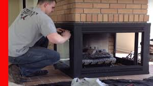 repainting a 3 sided fireplace youtube
