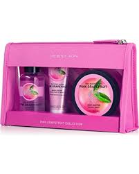 Bath And Body Gift Sets Fall Savings On The Body Shop Pink Grapefruit Festive Picks Gift