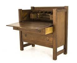 antique drop front desk antique drop front desk arts and crafts desk america 1920 b807