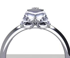 engagement rings skull skull engagement rings