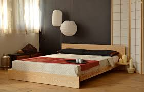 wooden platform bed frame kulu platform wooden bed natural bed company