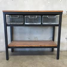 industrial console table with drawers astounding industrial console table with drawers in tall uk pottery