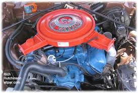 dodge charger 440 engine chrysler dodge plymouth 440 six pack engine information