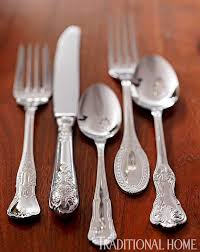 Unique Silverware by Cheerful Spring Brunch Traditional Home