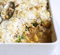 Biryani Decoration Chicken Biryani Bake Recipe Bbc Good Food