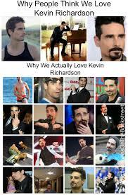 Backstreet Boys Meme - why people think we love the backstreet boys vs why we actually