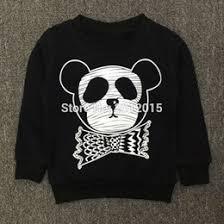 discount girls panda hoodie sweatshirt 2017 girls panda hoodie