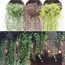 artificial weeping willow ivy vine fake plants outdoor indoor wall