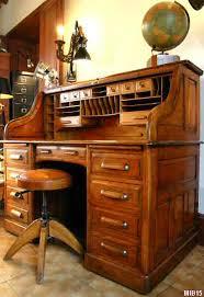 bureau americain cylindre bureau à cylindre de type dos d âne vers 1930