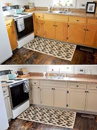 how to add trim to bottom of kitchen cabinets diy inexpensive cabinet updates add trim paint cabinets