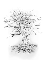 family tree tattoo drawing designs start gathering all your