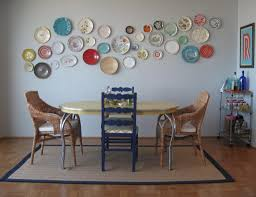 i want a plate wall in the dining room for the home